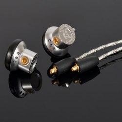 AK 2017 Musicmaker Toneking UNICORN In Ear Earbuds In Ear Earphone Alloy Tune Earbud With Replace Cable MMCX Connector Headplug