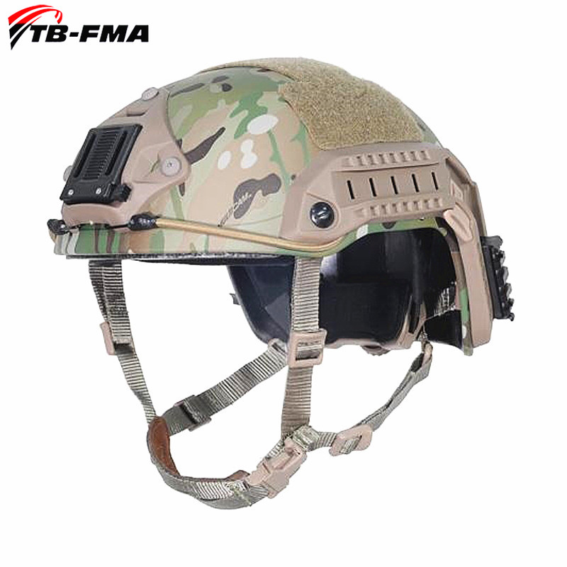 TB FMA New Tactical Maritime Multicam Camo Proftion ABS Helmet for Airsof Tactical Tropic Helticam Tropic Helmet Free Shipping