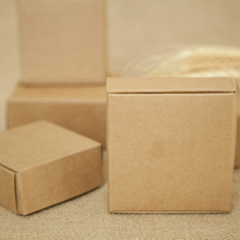 Kraft-Paper-Box Display-Boxes Packaging Necklace/rings-Storage Wedding/jewelry 500pcs