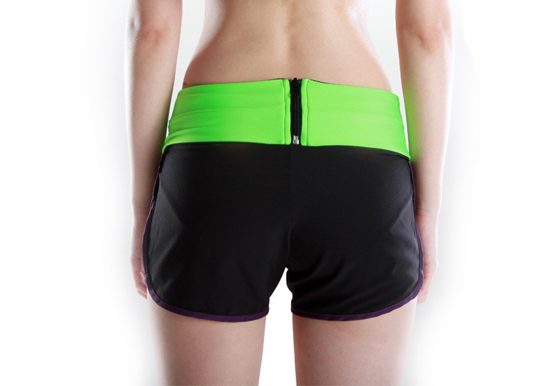 Unisex Sport Gym Running Belt Waist Bag Pack Light Weight Spandex Casual Cycling Funny Storage Waist Packs For Phone Card Key (2)