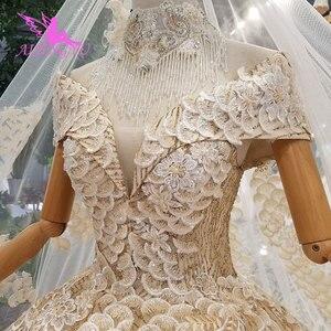 Image 5 - AIJINGYU Abito Da Sposa Vittoriano Abiti Corsetto Commercio Allingrosso Semplice Breve Vintage Modest Abito A Buon Mercato Abiti Da Sposa femminile