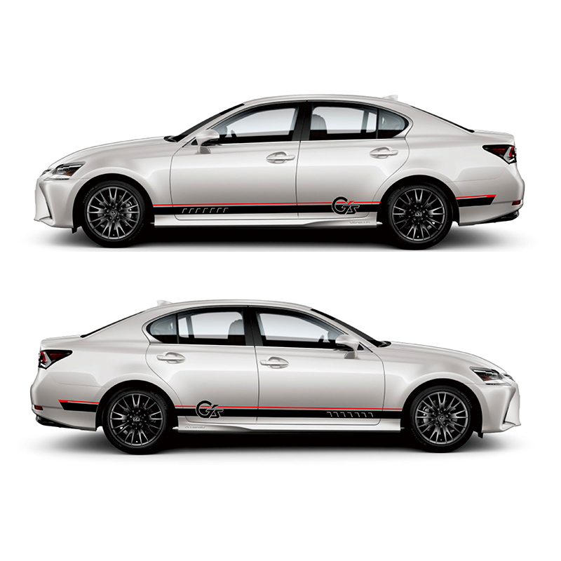 купить TAIYAO car styling sport car sticker For Lexus GS 200h 300h 200t F SPORT Mark Levinson car accessories and decals auto sticker по цене 2711.64 рублей