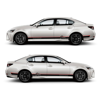 TAIYAO car styling sport car sticker For Lexus GS 200h 300h 200t F SPORT Mark Levinson car accessories and decals auto sticker front lip for lexus gs350