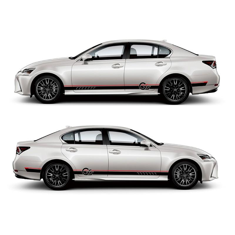 TAIYAO voiture style sport voiture autocollant pour Lexus GS 200 h 300 h 200 t F SPORT Mark Levinson voiture accessoires et décalcomanies auto autocollant