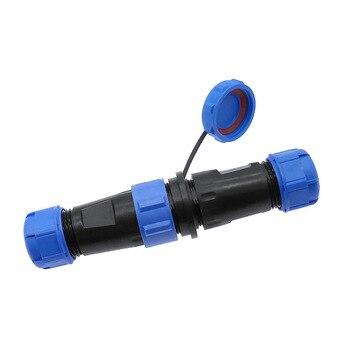 Водонепроницаемый док-разъем SP1710 SP1711 IP68 SP17 2 pin 3pin 4pin 5pin 7pin 9pin разъем кабеля питания
