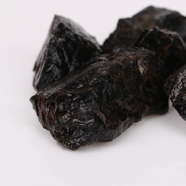 Natural Black Tourmaline Crystals
