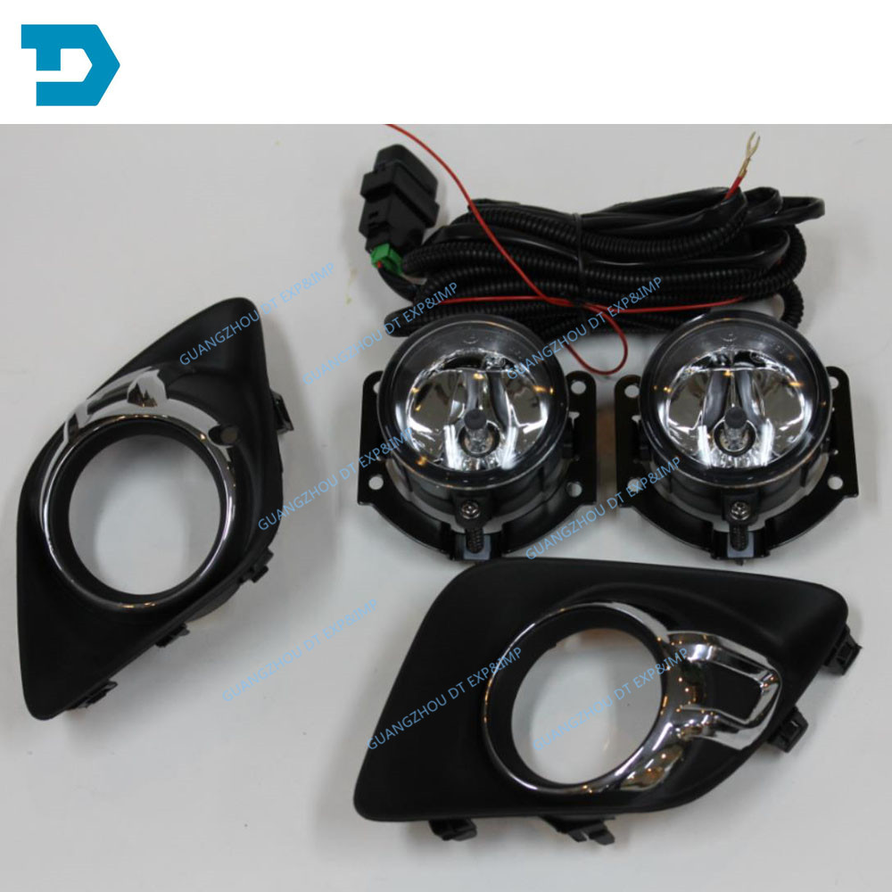 2010 2011 2012 Fog LAMP SET for ASX AND Outlander Sport RVR FOG LAMP 8321A467 WITH BULBS hot sale abs chromed front behind fog lamp cover 2pcs set car accessories for volkswagen vw tiguan 2010 2011 2012 2013