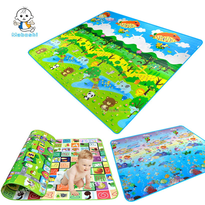 6 Designs Maboshi Children Play Mat Waterproof Kids Beach