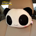2X New Cute Carton animal Panda Plush Car Head Rest Auto Neck Head Rest Cushion Seats Pillow For Cars Driver Passengers EA1051
