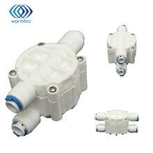 Высокое качество 4 способ 1/4 Порты и разъёмы автоматическое отключение клапан для воды с фильтром фильтр воды для обратного осмоса Системы