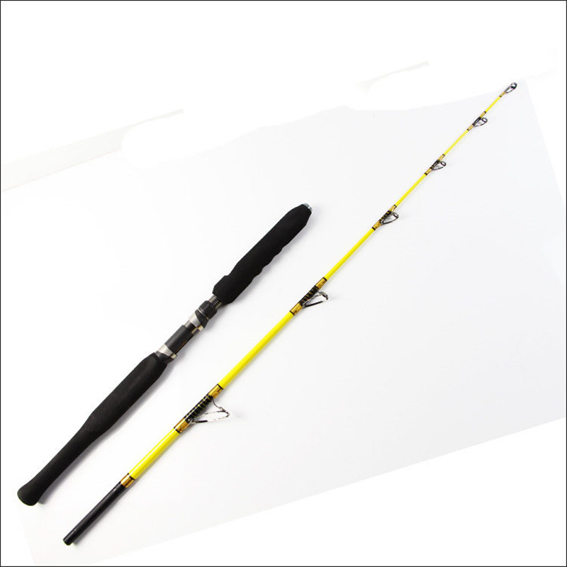 Brand New 99% Carbon Lure Fishing Rod Plug Section Pole 1.68M 1.98M High Quality Fishing Pole 2 Section Fly Rod Fishing Tackle high quality fishing rod lure fishing pole super hard durable wood handle road fishing rod fishing tackle 1 8 m 2 1 m 2 4m