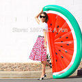Inflatable Half  Watermelon Float Pool Beach Swimming Toy Blowup Fruit Float Floatie Air Mattress Swim Ring 180*80cm