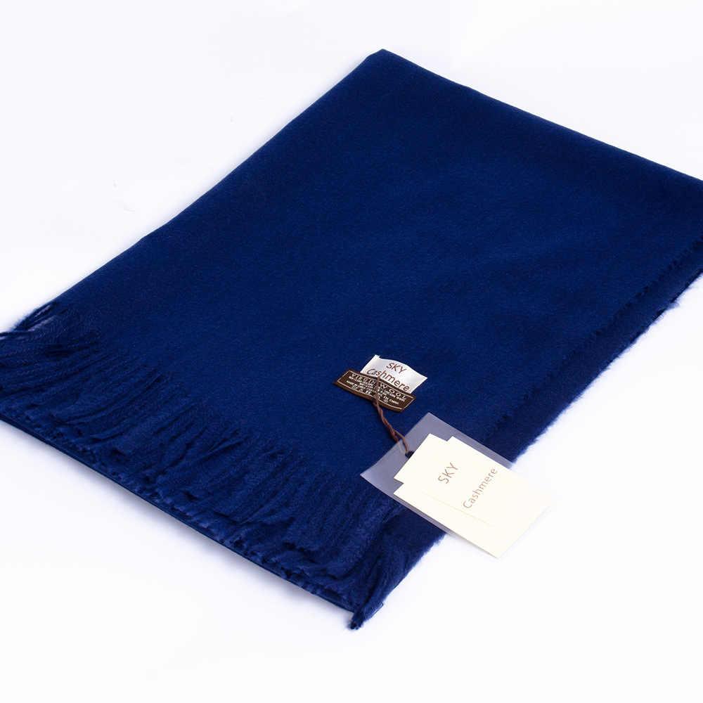 Winter Soft Warm Cashmere Scarf for Women Wool Scarves Khaki Winter Poncho Black Men's Cashmere Scarfs Female Shawl Red Pashmina
