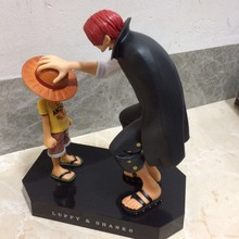 One Piece Anime Straw Hat Luffy Shanks gift doll toys luffy models pvc collection