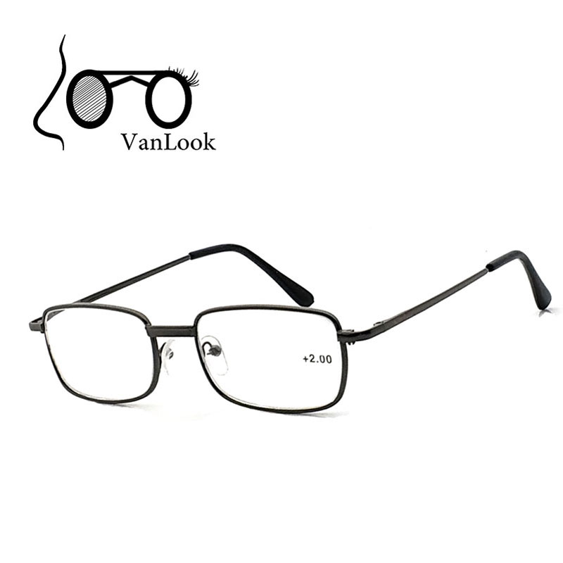 Reading Glasses for Men +1.00 +1.50 +2.00 +2.50 +3.00 +3.50 +4.00 Glass Spectacles Farsightedness Gafas de Lectura Spring Hinge