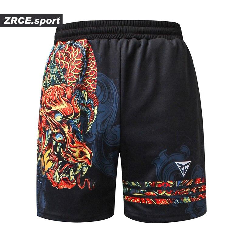 ZRCE Shorts Men Fashion Summer Beach Causal Fitness 3d Print Shorts Brand Clothing Loose Fashion Mens Pattern Funny Trousers