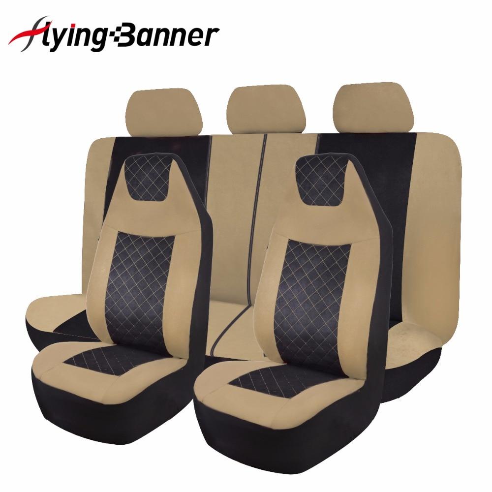 Tela de terciopelo moteado cubierta de asiento de coche Universal - Accesorios de interior de coche - foto 4