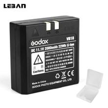 Godox VB18 Dc 11.1V 2000Mah 22Wh Lithium Ion Li Ion Batterij Voor Ving V850 V860C V860N Flash Speedlite