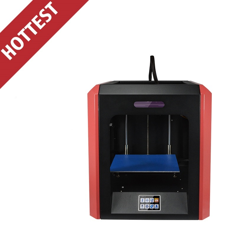 Print Size 200 200 200mm Metal Single Extruder 3D Printer Full Assembled KIT Touch Screen Model