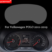 Car Styling Car Dashboard Paint Protective Film Sticker Light Transmitting Automobiles Accessories For Volkswagen POLO 2011-2018