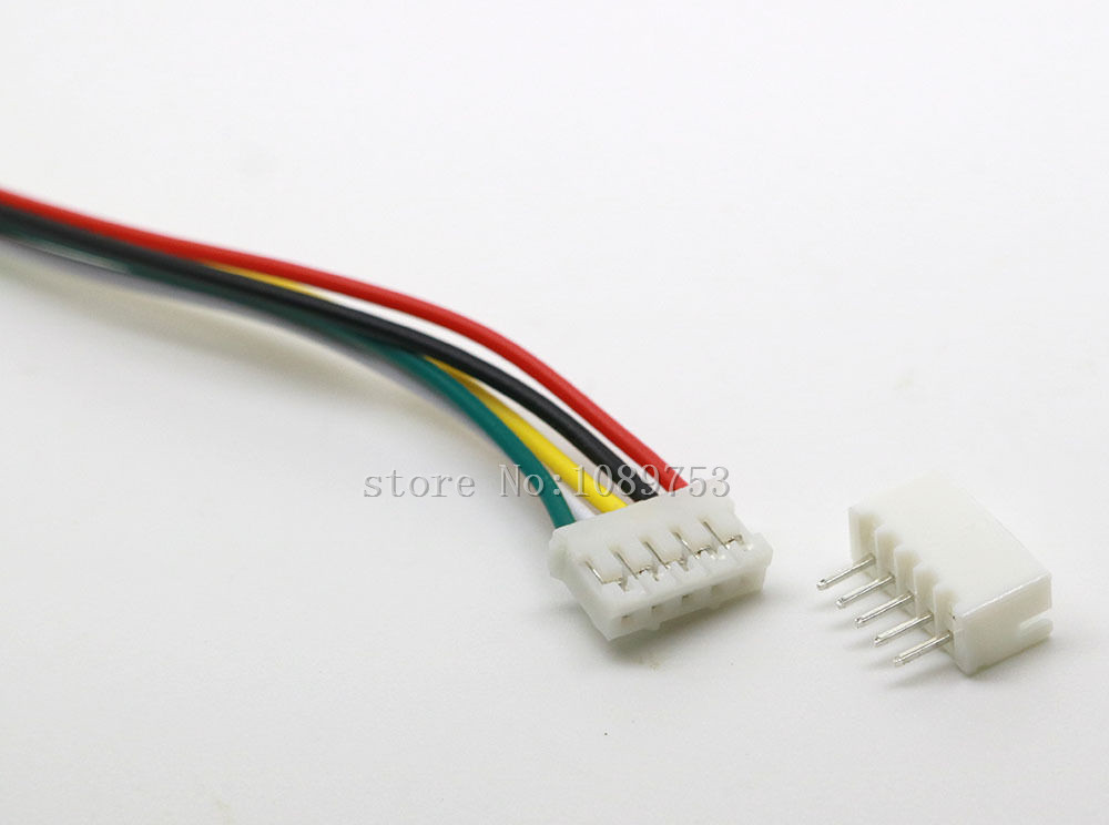 20 SETS Mini Micro JST 2.0 PH 5-Pin Connector plug with Wires Cables 300MM mini micro jst 2 0mm t 1 6 pin connector w wire x 10 sets 6pin 2 0mm