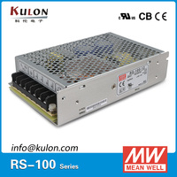 Original Meanwell RS 100 15 110/220VAC to 15VDC 105W 7A Mean well Power Supply CB UL CE