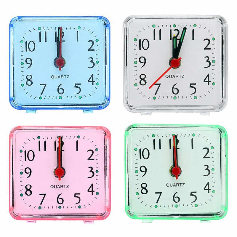 1 PC הנמכר ביותר 2018 מוצרים חמוד ילדי שעון מעורר מעורר שעון דיגיטלי שעון מעורר מיטת השינה led משרד אלקטרוני שעון