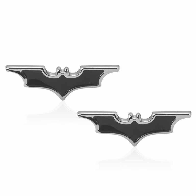 Di alta Qualità di Stile Francese little black batman Gemelli Per Mens Camicia di vestito di Marca Polsino Bottoni Top vendita Gioielli