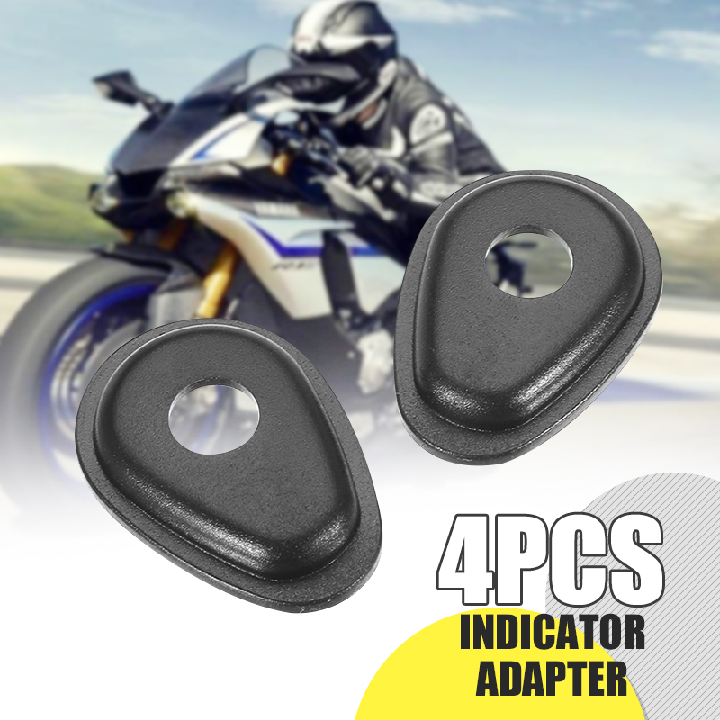 4Pcs/Set Motorcycle Front/Rear Indicator Adapter Turn Signals Spacers For YAMAHA YZF-R1/R6 & FZ6/FZ1