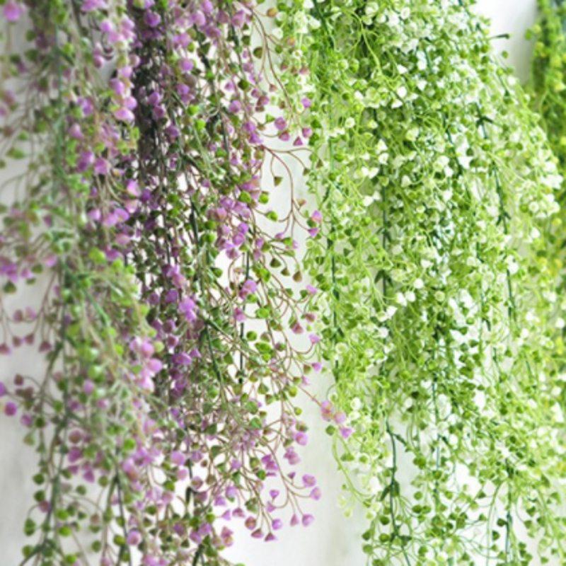 80cm 1pcs Artificial Flowers Vine Ivy Leaf Fake Plant Artificial Plants Green Garland Home Wedding Party Decoration80cm 1pcs Artificial Flowers Vine Ivy Leaf Fake Plant Artificial Plants Green Garland Home Wedding Party Decoration