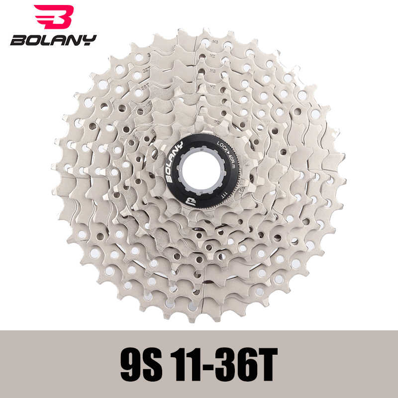 f3b1973481 BOLANY MTB Bicycle cassette 9 speed flywheel for shinamo sunrace XT SLX  sram gx 11-25T 11-28T 11-36T 11-40T 11-46T 11-50T bike