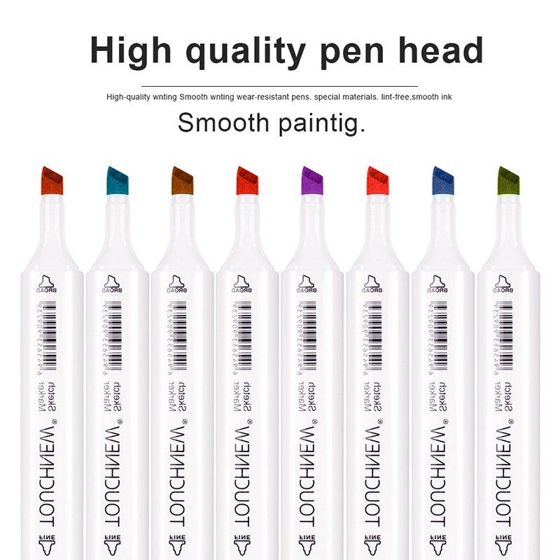 dupla cabeça álcool marcador caneta para desenho