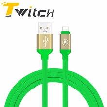 Дергаться для iphone кабель для ios 10 9 usams 2.1a быстрая зарядка 1 m плоским зарядное устройство usb кабель для iphone 7 i6 iphone 6 6s usb кабель