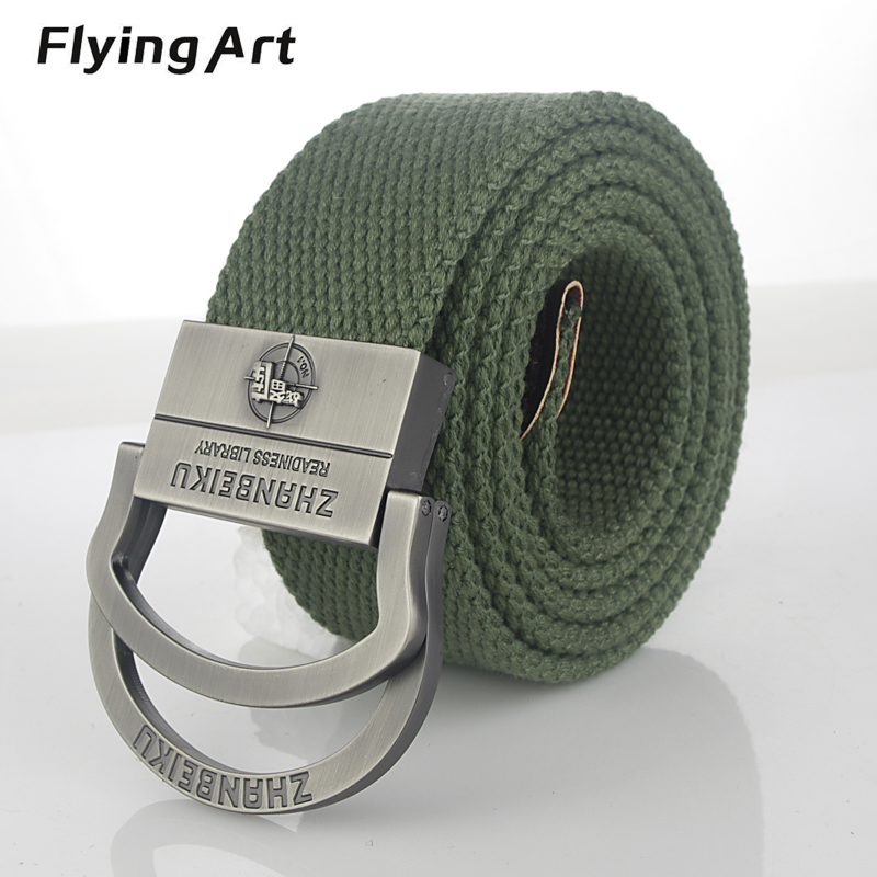 Fashion Men's tactical Military Canvas belt Body Width 3.8CM Thickness 4MM Length 110-140-160CM For women High-quality Boutique