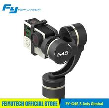 new arrival !Free DHL Feiyu FY-G4S newest 3 axis gimbal 360 degree turning without limited / compatible with Gopro 3 / 3+ / 4