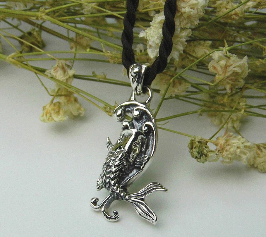 ᗔТайский старинные серебряные украшения кулон 925 ...