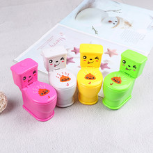 Hot sale1pcs Mini Spray de Água Higiênico Closestool Joke Gag Prank Squirt Toy Presente Surpresa(China)