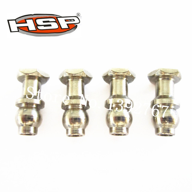 HSP 60040 Shock Absorber Link Ball 5.8mm*4Pcs Spare Parts For 1/8 RC Hobby Nitro Buggy Truck SAVAGERY BATTLE Baja