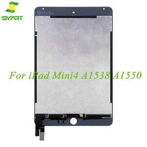 Для iPad Mini 4 ЖК-дисплей кодирующий преобразователь сенсорного экрана в сборе Замена для Mini4 A1538 A1550 EMC 2815 EMC 2824 7,9