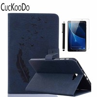 Pu Leather Wallet Case Stand Folding Cover Case For Samsung Galaxy Tab A 10 1 SM