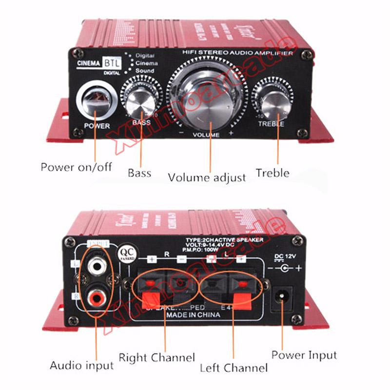 X MA-170 Amplifier 05