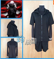 Tokyo Ghouls Kaneki Ken Cosplay Costumes Halloween POPULAR coat+ long sleeve T-shirt+ black shorts