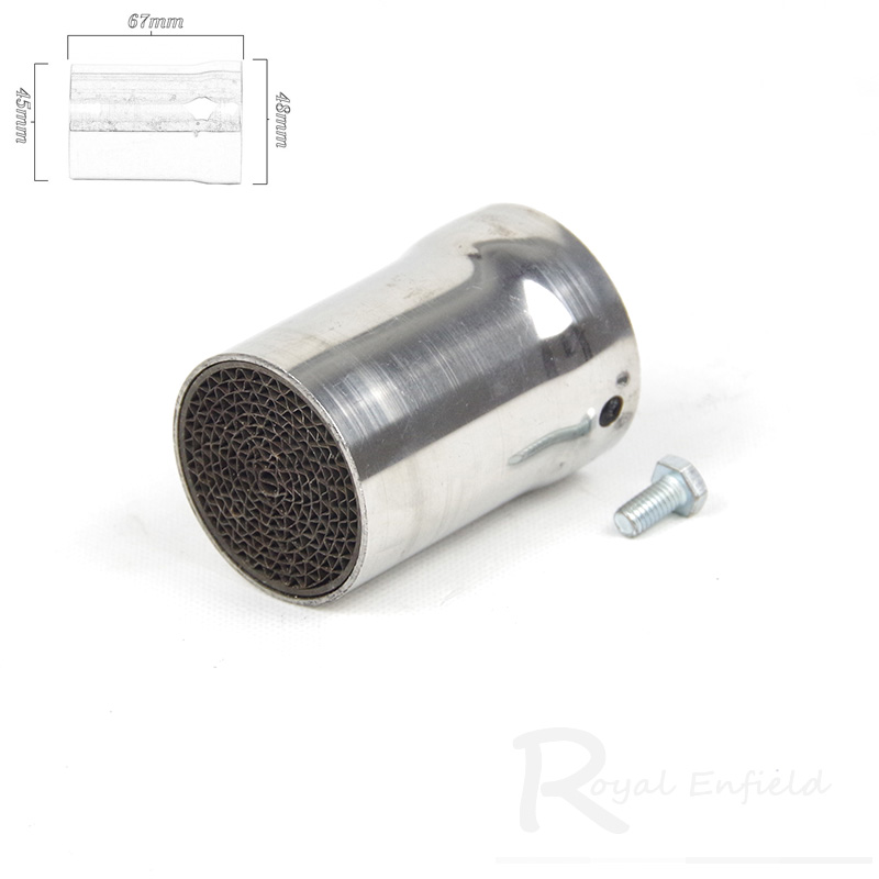 Universal Front Mid End exhaust Catalyst DB Killer baffle for Motorcycle car Exhaust Muffler Silencer Noise Sound Eliminator