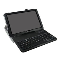 New Soft Removable Bluetooth Keyboard PU Leather Case Cover For 10.1Acer Iconia One 10 B3 A30 Tablet