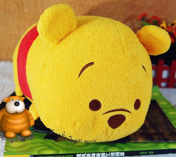 New Arrival Big 30cm Bear Pig Piglet Cute Soft Anime TSUM TSUM Plush Toy Doll Christmas Gift Collection