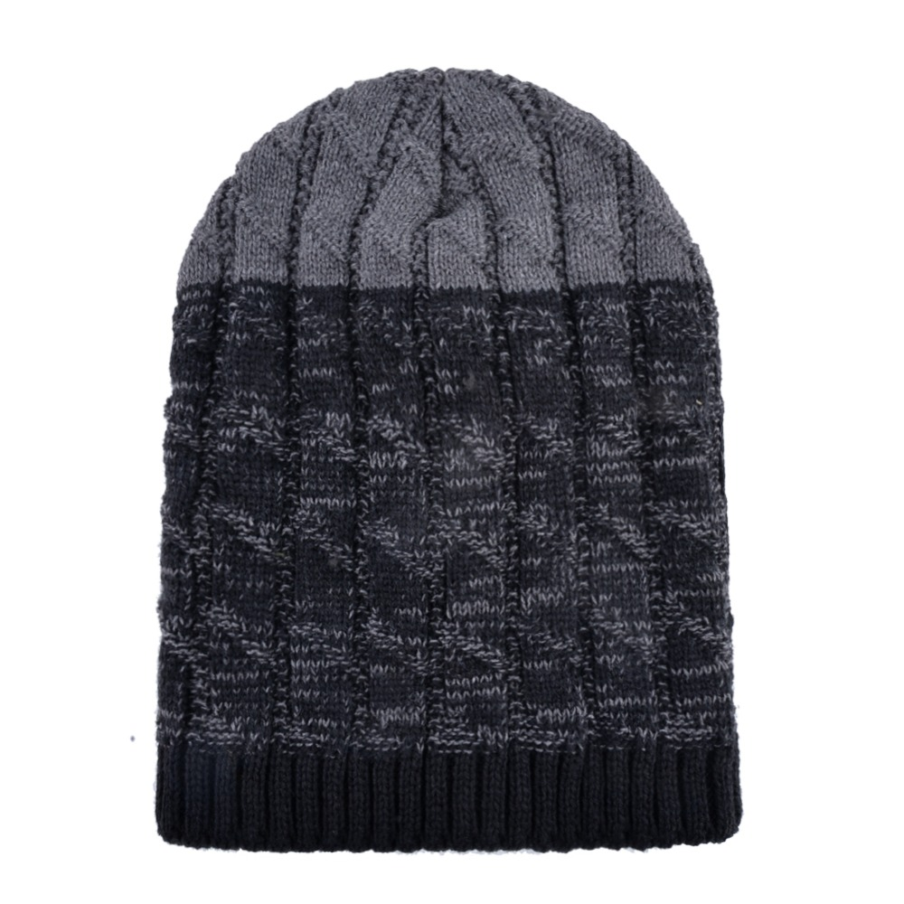 Knitting Wool Hat And Scarf For Men Women Winter Outdoor Thick Warm Skullies Beanies Ski Cap Scarves Sets Knitted Bonnet Gorro in Men 39 s Skullies amp Beanies from Apparel Accessories