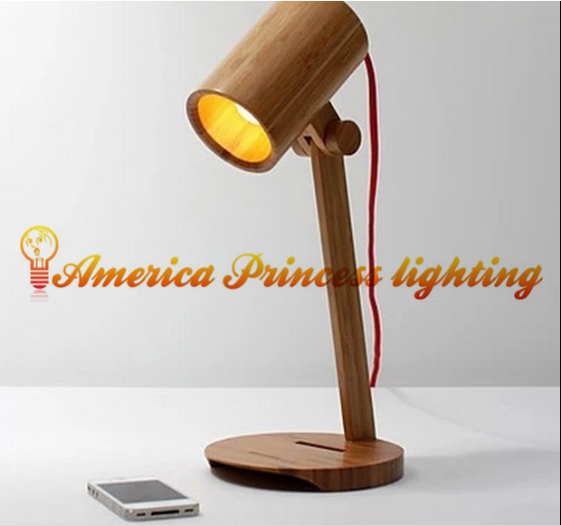 Learn Creative Decorative Bamboo Work Reading Lamps Bedroom Living Room Lamp Led Lighting Material Wood Ac110 240v