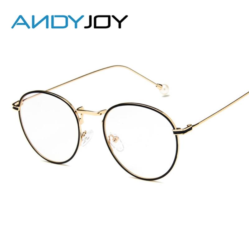 Aliexpress.com : Buy ANDYJOY New Retro Round Glasses Frames Women ...
