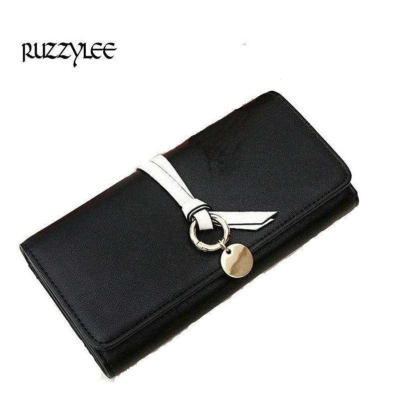2017 Fashion Design Wallet Women Purses Hasp Female Phone Long  Purse Clutch Card Holder Luxury Leather For Womens Wallets Lady casual weaving design card holder handbag hasp wallet for women