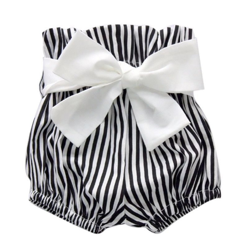 Hot Baby Girls stripe Romper Tops+Striped Shorts Outfits Set Summer Sunsuit 0-24M G72